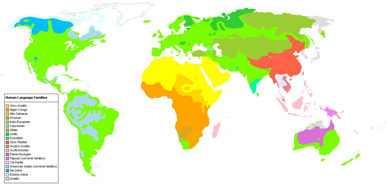 File:Human Language Families Map (Wikipedia Colors .PNG - Wikipedia