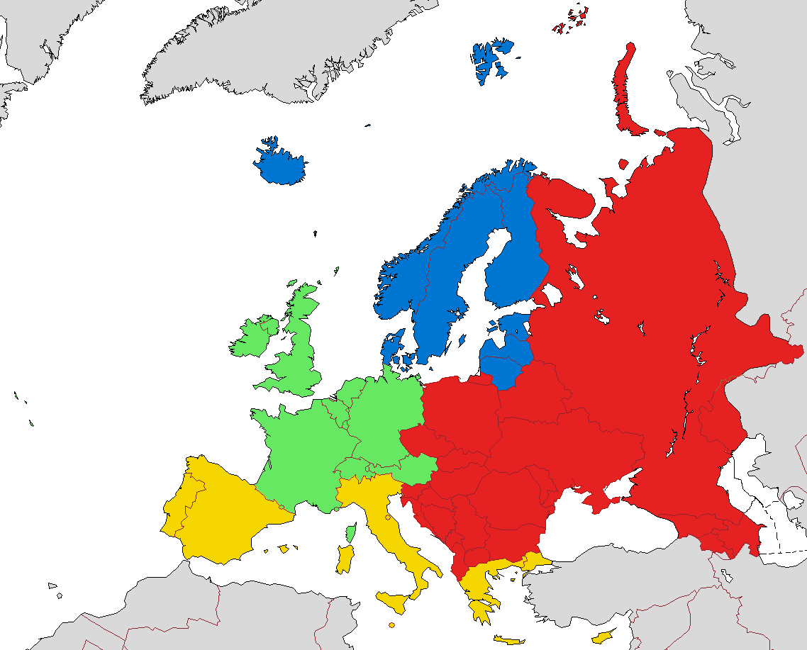 regions map of europe File:European sub regions (according to EuroVoc, the thesaurus of
