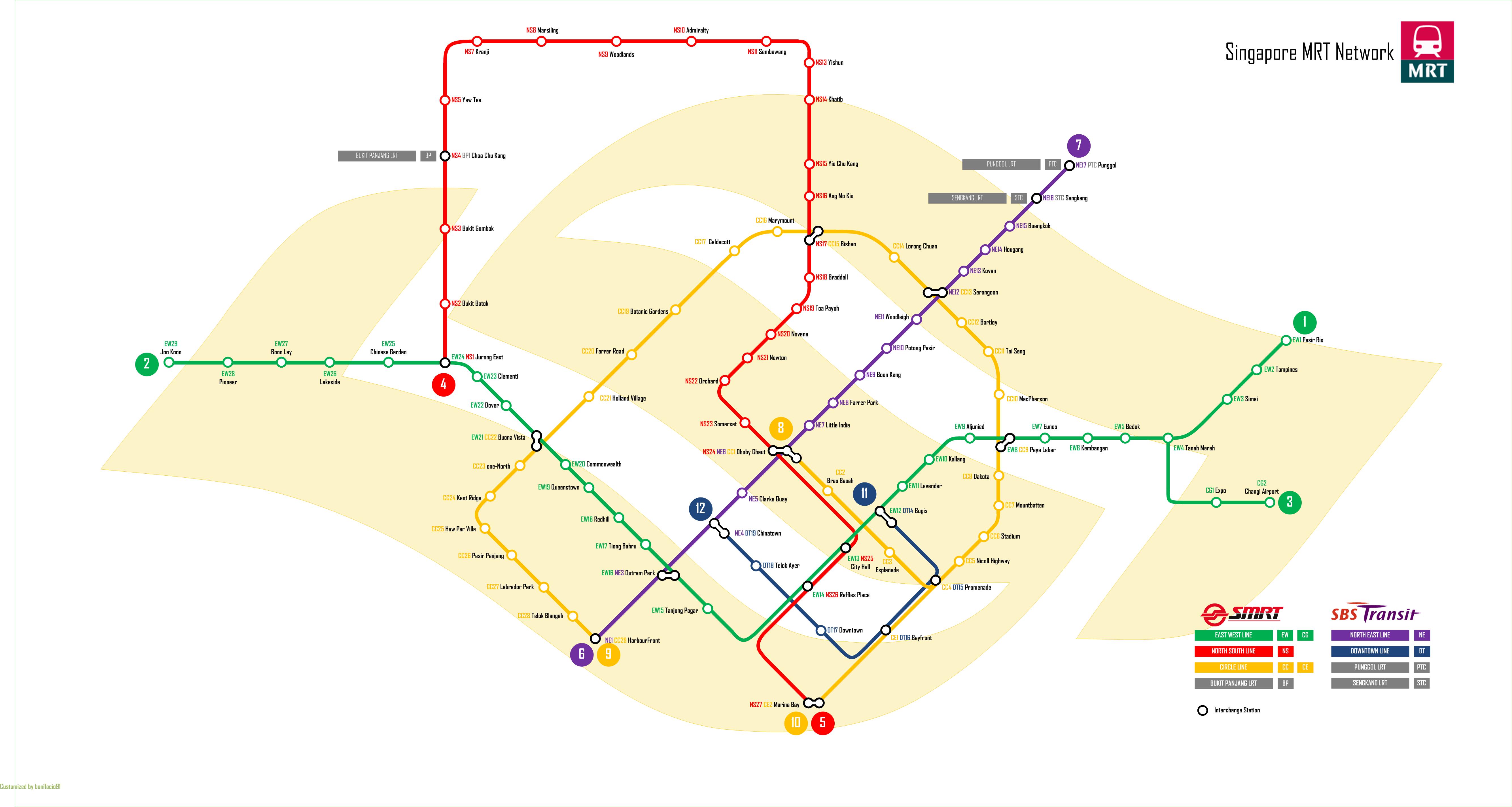 singapore mrt map pdf 2018