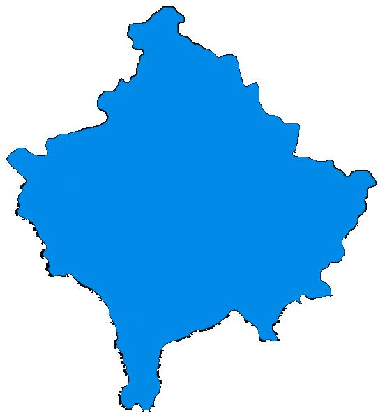 FileKosovo Blue Mappng Wikipedia - Kosovo map