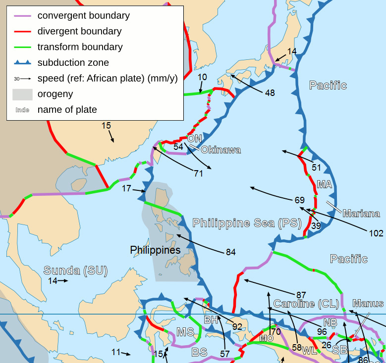 Benham Rise Wikipedia - Where is philippines