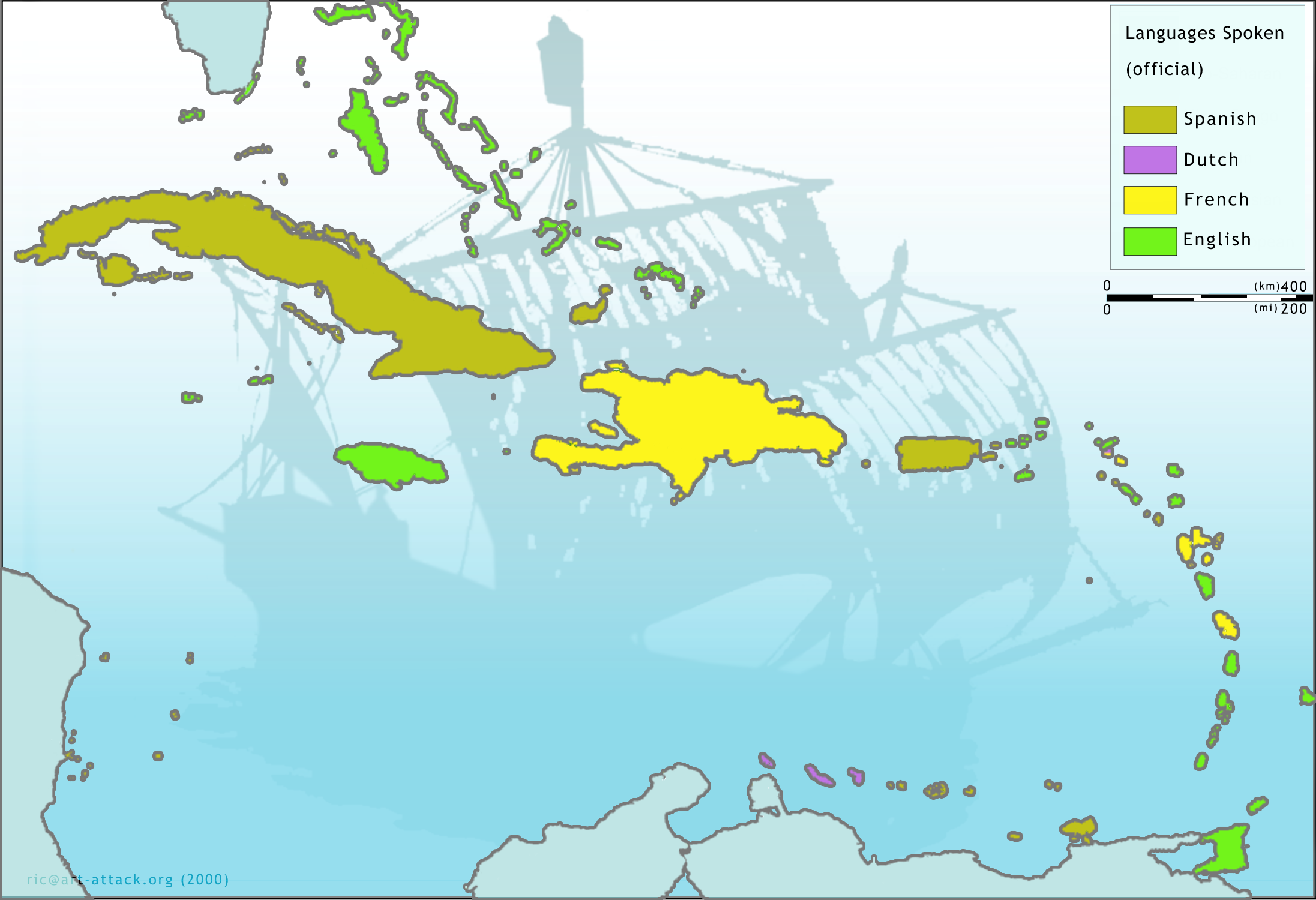 File:Map-caribbean languages big.png - Wikipedia, the free ...