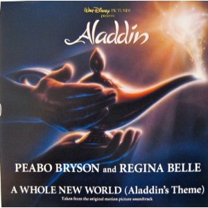 Cover image of song A Whole New World by Peabo Bryson