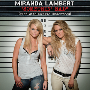 Miranda Lambert and Carrie Underwood — Somethin' Bad (studio acapella)