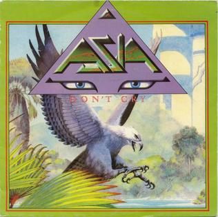 Dont Cry (Asia song) 1983 single by Asia