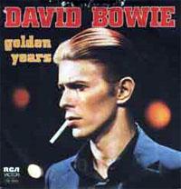 Titelbild des Gesangs Golden Years von David Bowie