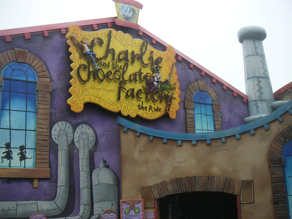 Charlie and the Chocolate Factory Ride, Alton Towers, UK by CGIWorld