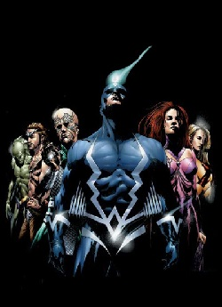 Cover from Inhumans trade paperback (2001).