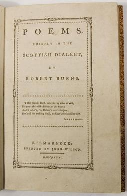 Robert Burns's poems.