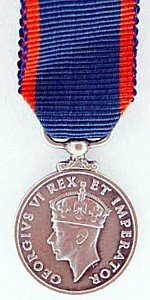 Union of South Africa Kings Medal for Bravery, Silver