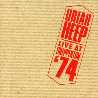 <i>Live at Shepperton 74</i> 1986 live album by Uriah Heep