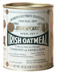 Traditional 28-ounce tin of McCann's Steel Cut...