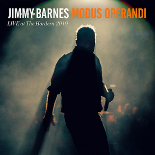 <i>Modus Operandi</i> (Jimmy Barnes album) 2019 live album by Jimmy Barnes