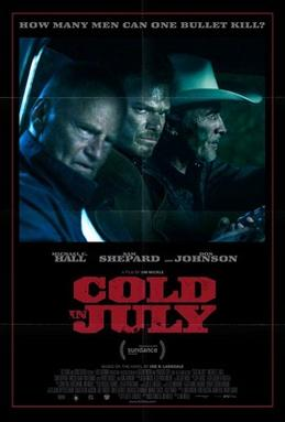 Poster for 2014 thriller Cold In July