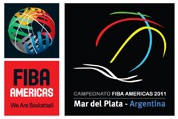 Official logo of the 2011 FIBA Americas Championship
