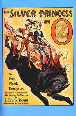 Cover of The Silver Princess in Oz.