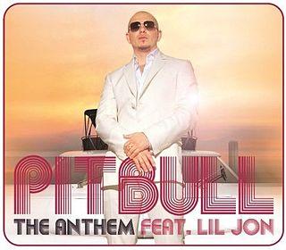翻唱歌曲的图像 The Anthem 由 Pitbull