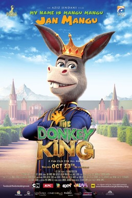 Download The Donkey King (2018) Dual Audio (Hindi-English) 480p | 720p