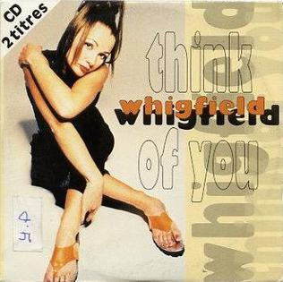 Think of You (Whigfield song) 1995 single by Whigfield