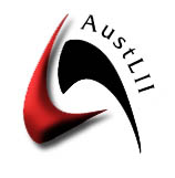 Australasian Legal Information Institute institution operated jointly by the Faculties of Law of the University of Technology Sydney and the University of New South Wales