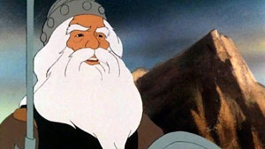 Theoden in Ralph Bakshi's animated version of The Lord of the Rings BakshiTheoden.JPG