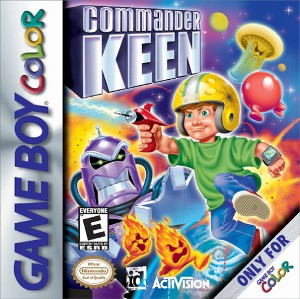 <i>Commander Keen</i> (video game) 2001 video game for Game Boy Color