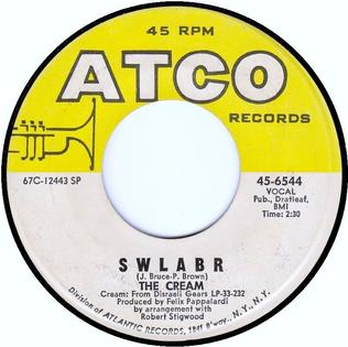 SWLABR single by Cream