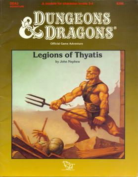 Cover of DDA2 Legions of Thyatis