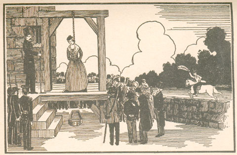 Female Hanging Execution Stories http://en.wikipedia.org/wiki/Elizabeth_(Harriot)_Wilson