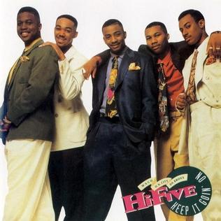<i>Keep It Goin On</i> 1992 studio album by Hi-Five