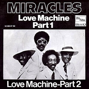 Love Machine (The Miracles song) 1975 single by The Miracles
