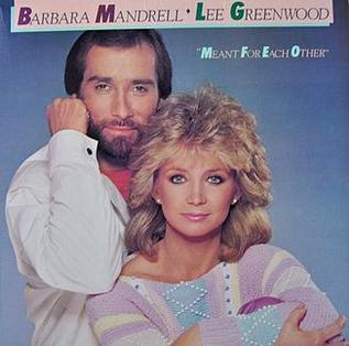 <i>Meant for Each Other</i> 1984 studio album by Lee Greenwood and Barbara Mandrell