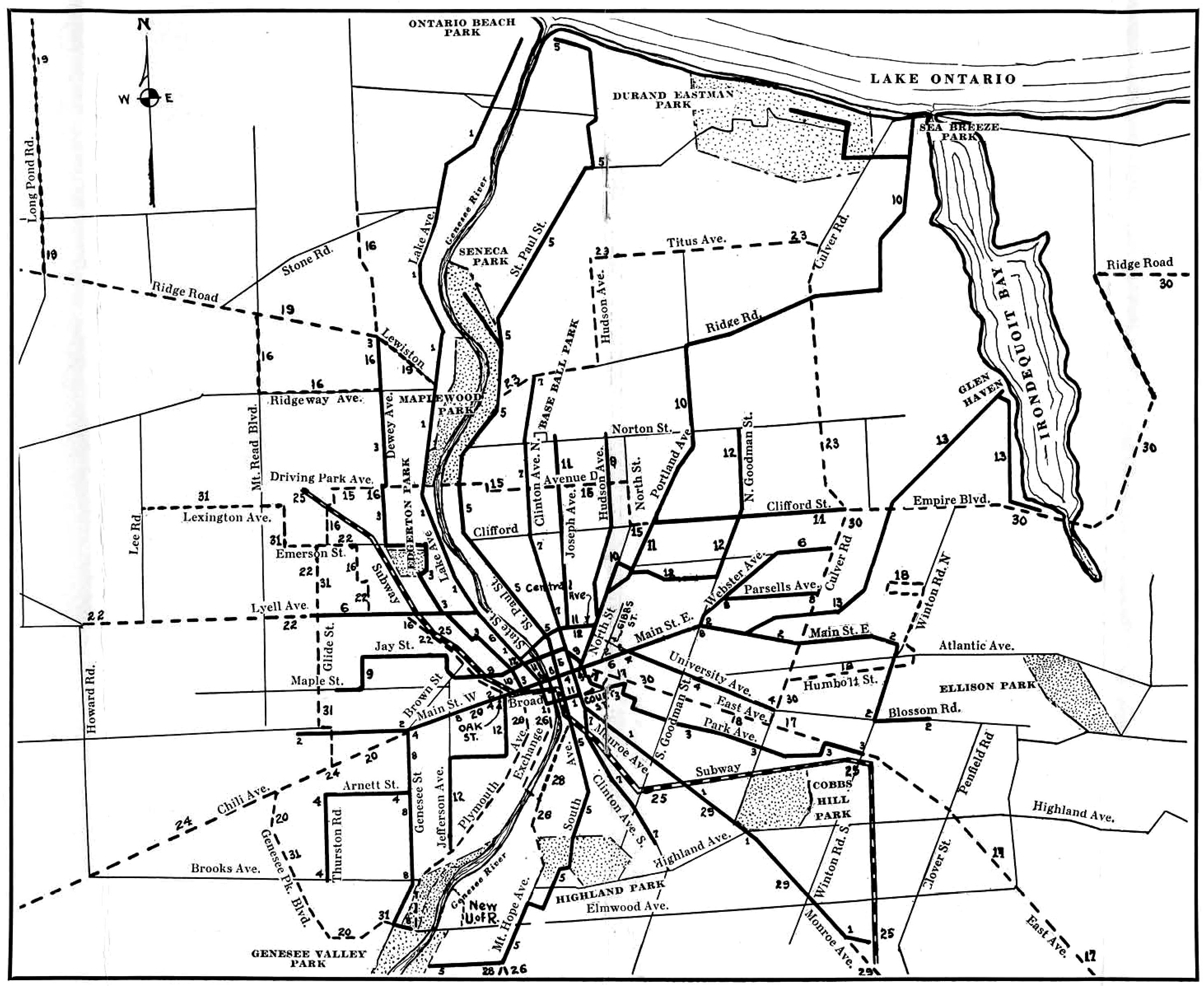 FileMap Of New York State Railways Rochester Lines Jpg - New york map rochester