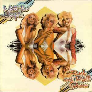 <i>Rock and Roll Queen</i> 1972 greatest hits album by Mott the Hoople