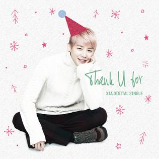 Thank U For 2012 single by XIA
