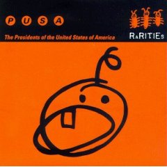 <i>Rarities</i> (The Presidents of the United States of America album) 1997 compilation album by The Presidents of the United States of America
