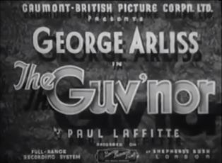 <i>The Guvnor</i> (film) 1935 film by Milton Rosmer