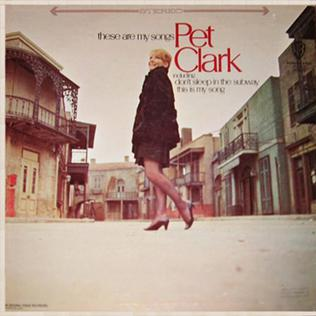 <i>These Are My Songs</i> 1967 studio album by Petula Clark