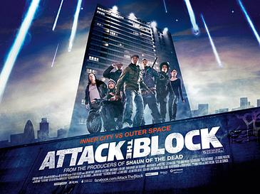 Attack the Block (2011) movie poster