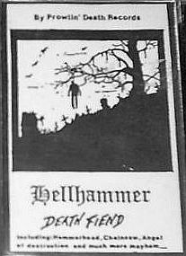 <i>Death Fiend</i> 1983 demo album by Hellhammer