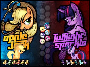 Fighting Is Magic скачать торрент игру со всеми пони - фото 4