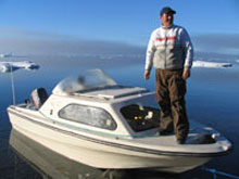 Florin Fodor in Grise Fiord - October 2006.