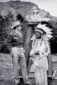 Korczak Ziolkowski and Lakota Chief Henry Standing Bear, kz henry 48.jpg