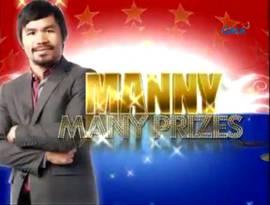 <i>Manny Many Prizes</i> Philippine television show