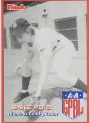 Marjorie Pieper All-American Girls Professional Baseball League player