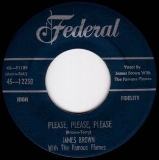 Please, Please, Please 1956 single by James Brown and The Famous Flames