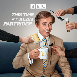 <i>This Time with Alan Partridge</i> BBC comedy show starring Steve Coogan