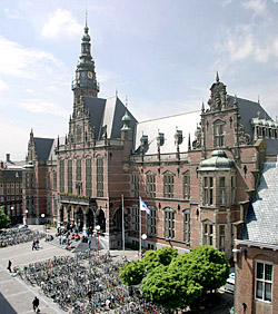 Academy building of the University of Groningen