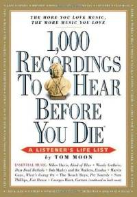 <i>1,000 Recordings to Hear Before You Die</i> book by Thomas Moone