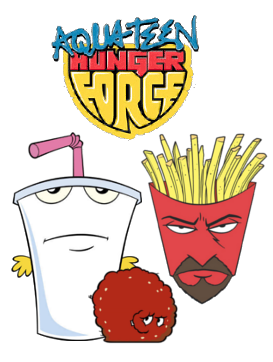 Something aqua teen unger force are